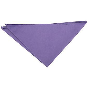 Dusty Lavender Suede Pocket Square