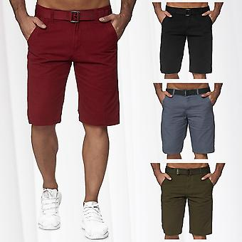 Herren's 5-Pocket Chino Shorts Casual Hose Bermuda Shorts Casual Jeans Sommer