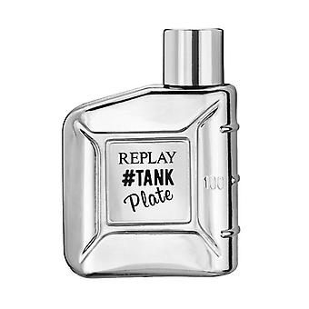 Replay #Tank Plate For Him Edt 100ml