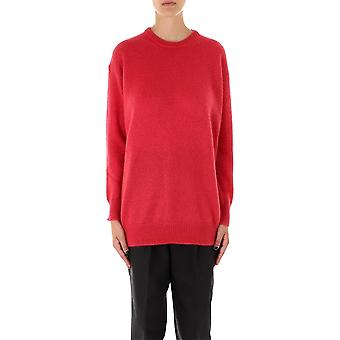 Max Mara 13660893000004 Frauen's rote Wolle Pullover