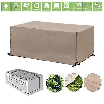 Gardenista® capa protetora de pedra para sofá de jardim de 2 lugares