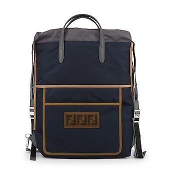 Fendi Original Unisex All Year Backpack/Rucksack - Blue Color 34346