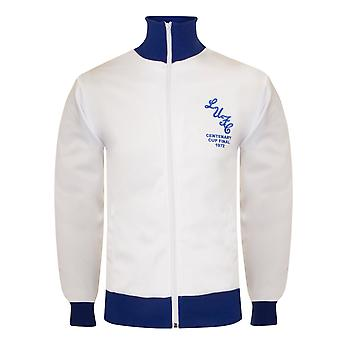 Leeds United AFC Official Gift Mens 1972 FA Cup Winners Retro Track Jacket