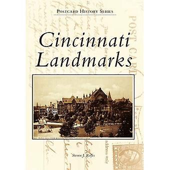 Cincinnati Landmärken (Vykort historia)