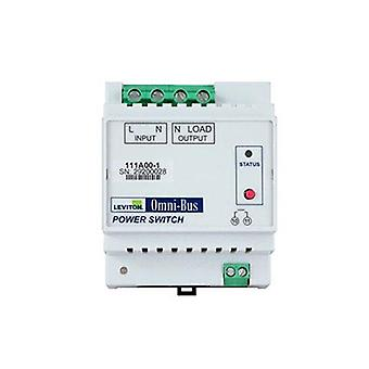 Leviton Omni Bus 3000W Power Switch Din Rail