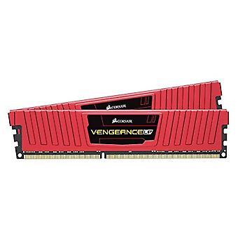قرصان الانتقام LPX 8GB DDR4-2400 ذكريات سطح المكتب عالية الأداء، 8 غيغابايت (2 × 4 غيغابايت)، DDR4، 2400 ميغاهرتز، C16 XMP 2.0، أحمر