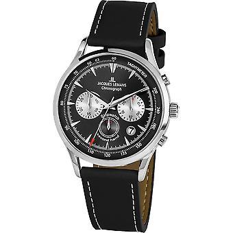 جاك ليمانس -- ساعة اليد -- الرجال -- ريترو كلاسيك -- -- 1-2068A