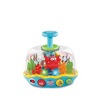 Vtech Baby Seaside Spinning Spin Top Toy Includes Lights, 3 Singalong Songs and