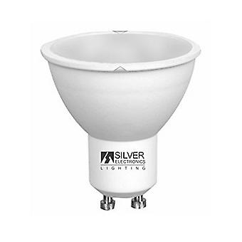 Dichroic Light Bulb Silver Electronics ECO GU10 4W Warm light/3000K