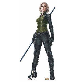 Black Widow Avengers Infinity War Lifesize Cardboard Cutout / Standee