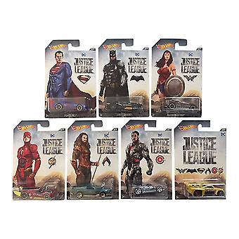 Mattel Hot Wheels DC Justice League Car 1: 64 Die Cast Vehicle