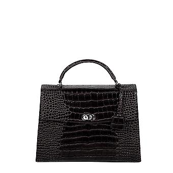 SOCHA Women's Handbag Audrey Croco 40, Black