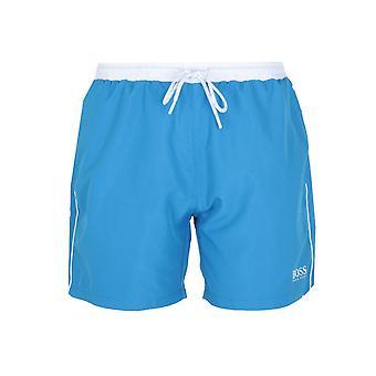 BOSS Starfish Bright Sea Blue Swim Shorts