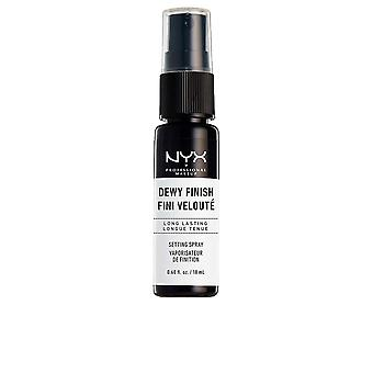 Nyx Dewy Finish Nastavení Spray Mini 18 Ml Unisex