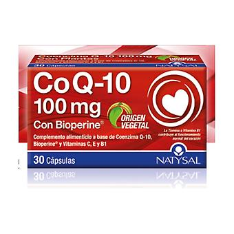 Coenzyme Q10 with Bioperine Vit C E and B1 30 capsules
