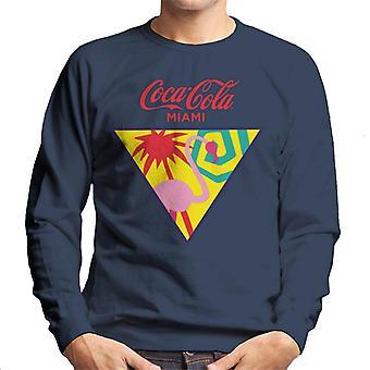 Coca Cola Miami Flamingo mannen ' s Sweatshirt