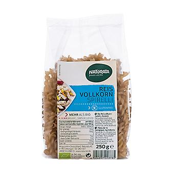 Eco Brown rice spirals 250 g
