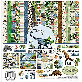 Carta Bella Dinosaurs 12x12 Tommer Collection Kit