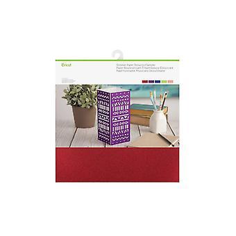 Cricut Shimmer Paper, Bedazzled Sampler 12x12 Inch