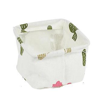 Bureau imperméable à l'eau de linge, boîte de stockage de papeterie de bureau - jouet, cosmétique,