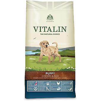 Vitalin Natural Puppy Chicken & Rice - 2kg