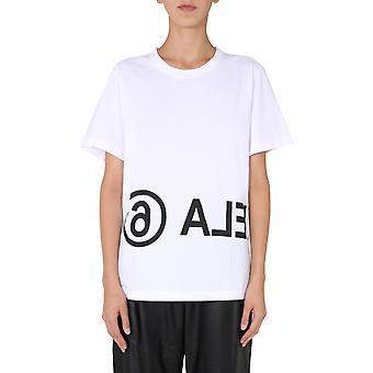Mm6 Maison Margiela S52gc0119s23588100 Dames's White Cotton T-shirt