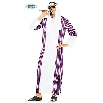Swank costume cheik arabe pour hommes