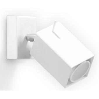 Sollux MERIDA - 1 Licht Wall Spotlight Wit, GU10