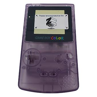 Replacement housing shell case repair kit for nintendo game boy color gbc (colour) - atomic purple | zedlabz