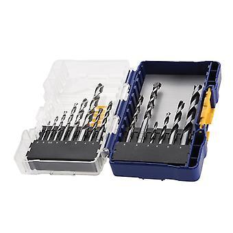 IRWIN® HSS Pro Combination Drilling Set, 15 Piece IW3031505