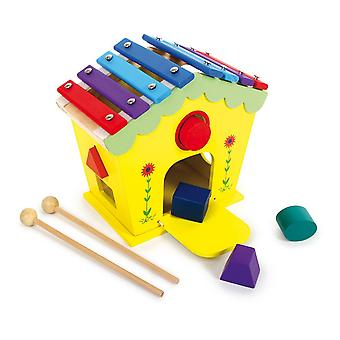 Legler Dodoo House of Sounds and Activities Wooden Musical Kid's Toy (6620)