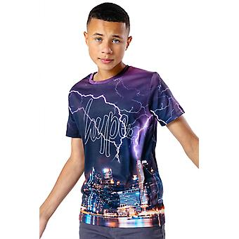 Hype Kids Skyline T-Shirt Multi 19