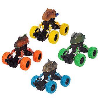 Fun Kids Pull Back Monster Dinosaur Truck X 1 Pack