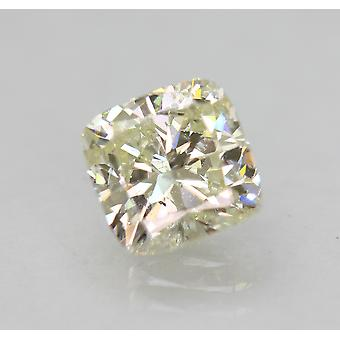 Zertifiziert 1,50 Karat K VS1 Kissen Enhanced Natural Loose Diamond 6.48x6.43mm