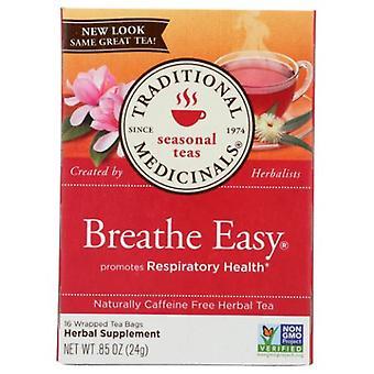Traditional Medicinals Teas Breathe Easy Tea, 16 Bags
