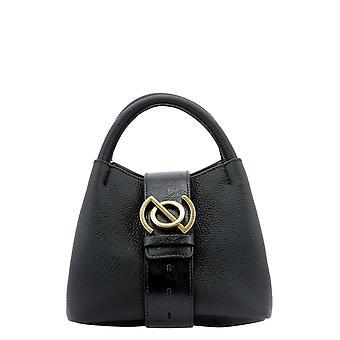 Zanellato 6415cb02 Women's Black Leather Handbag