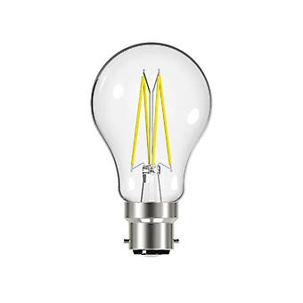 Energizer® LED BC (B22) GLS Filament Dimmable Bulb, Warm White 806 lm 7.2W