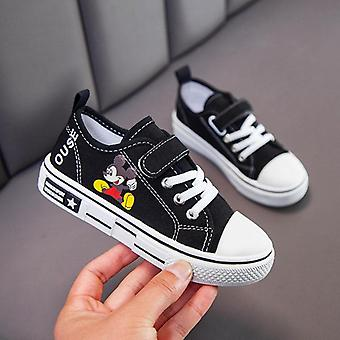 Spring / Autumn Canvas Shoes- Cartoon Mickey Mouse  Shoes