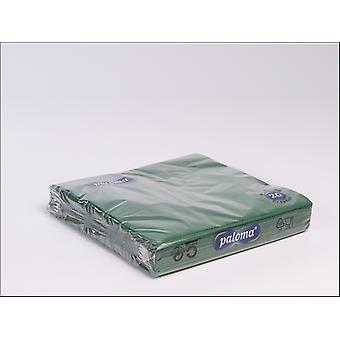 Essential Napkins 3Ply 33cm Dark Green x 20 33DG17