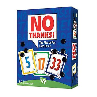 No Thanks Card Game