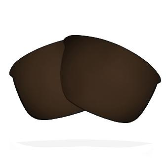 Polarized Replacement Lenses for Oakley Thinlink Sunglasses Anti-Scratch Brown