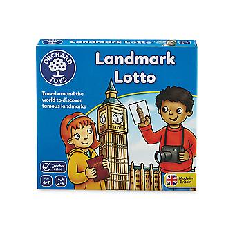 Orchard Legetøj Landmark Lotto - Mini spil