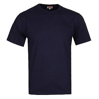 Armor Lux Jersey Crew Neck Navy T-Shirt