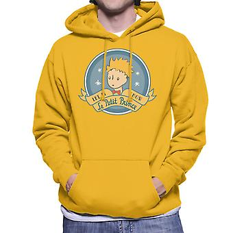 The Little Prince Christmas Let It Snow Le Petit Prince Men's Hooded Sweatshirt
