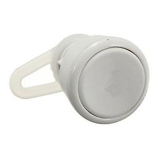 NEW World Smallest bluetooth Mono Headset For Smartphone (COLOR: WHITE)