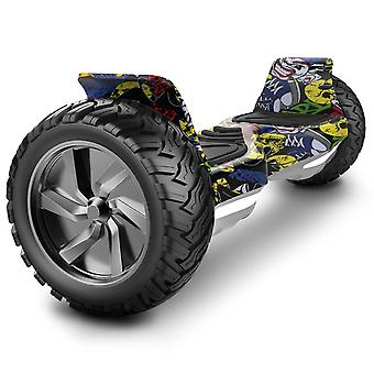 Challenger Basic Hoverboard Hummer 8.5inch segway Off-Road  hoverboard Gift for kids yellow