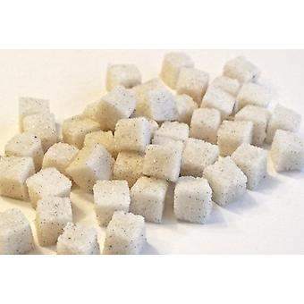 مكعبات السكر الفول الفانيلا العضوية