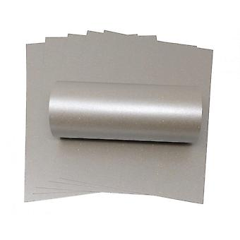 10 Sheets of A4 Mercury Sparkle Card 300gsm
