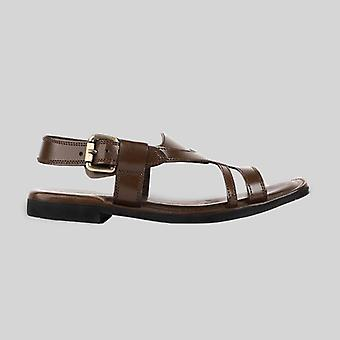 Corgan mens cowhide genuine eco leather sandals