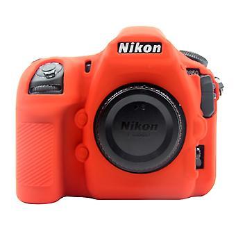 PULUZ Pehmeä silikonisuojakotelo Nikon D850:lle (punainen)